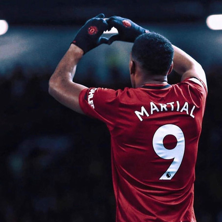 Martial - Nearly United's Number 9...