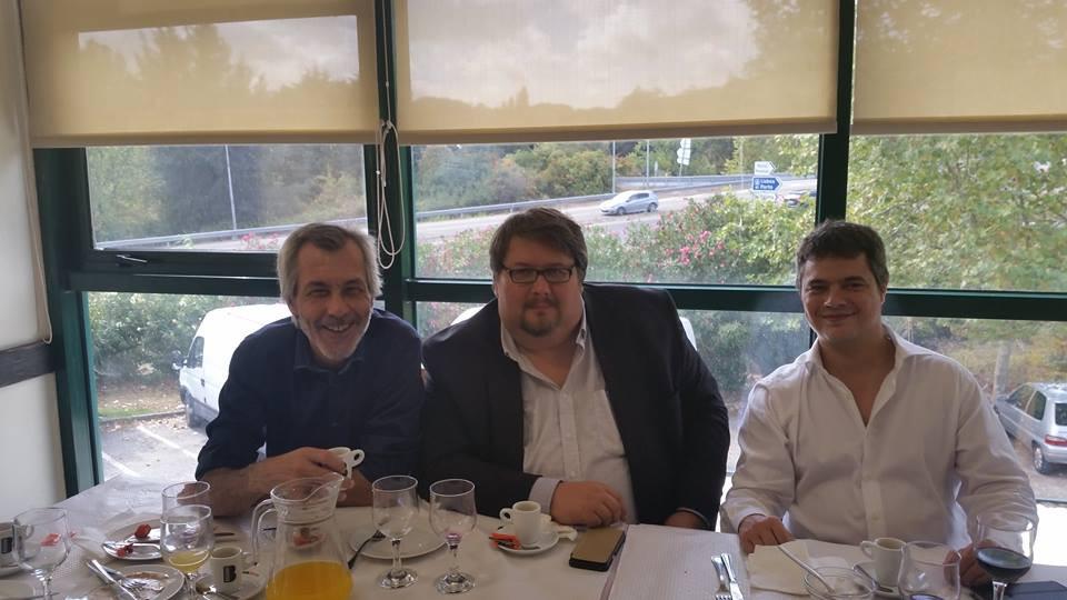 Présidents parti libertarien Portugais et Espagnol