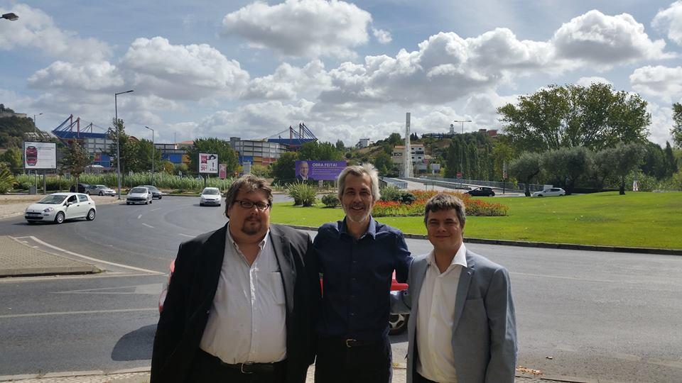 Présidents du parti Libertarien Portugais et Espagnol