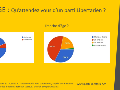 Sondage : Qu'attendez-vous d'un Parti Libertarien ? (Les résultats)