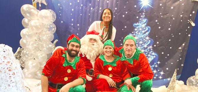 Père Noel et lutins