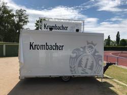 Krombacher Verkaufswagen