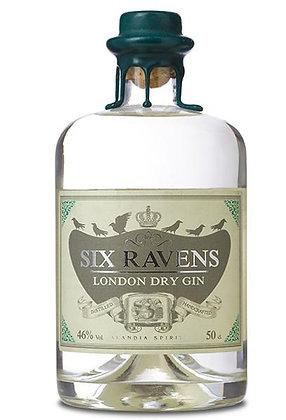 Six Ravens London Dry Gin 46% 0,5l