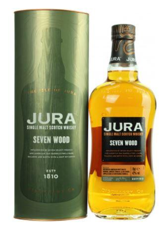 Jura Seven Wood Whisky 42.0% 0,7l