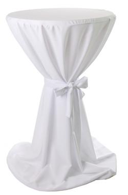 Stehtisch Husse Weiß
