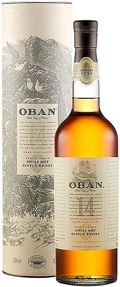 Oban 14 Jahre Highland Single Malt Whisky 0,7l