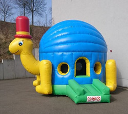 Hüpfburg Schildkröte