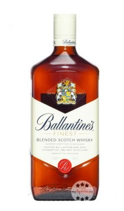 Ballantines Finest Blended Scotch Whisky 0,7l