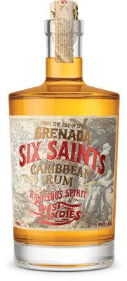 Six Saints Caribbean Rum 41,7% 0,7l