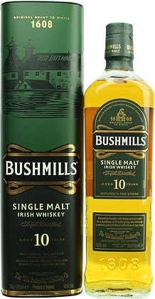 Bushmills 10 Jahre Single Malt Irish Whisky 0,7l