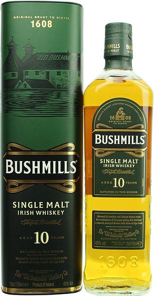 Bushmills 10 Jahre Single Malt Irish Whisky 0,7l