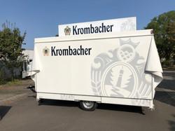 Verkaufswagen Krombacher