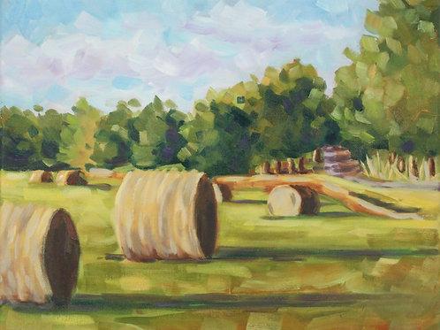 Bales at White Oak