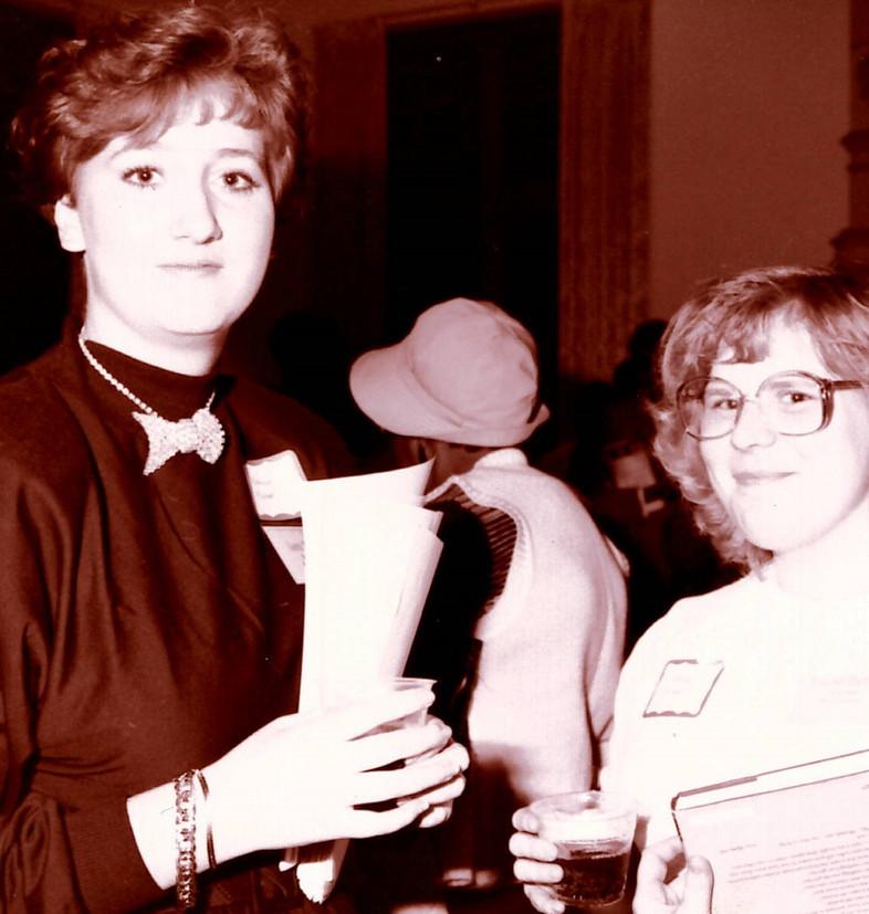 Lara Taylor and Theresa Hartley - 1989.j