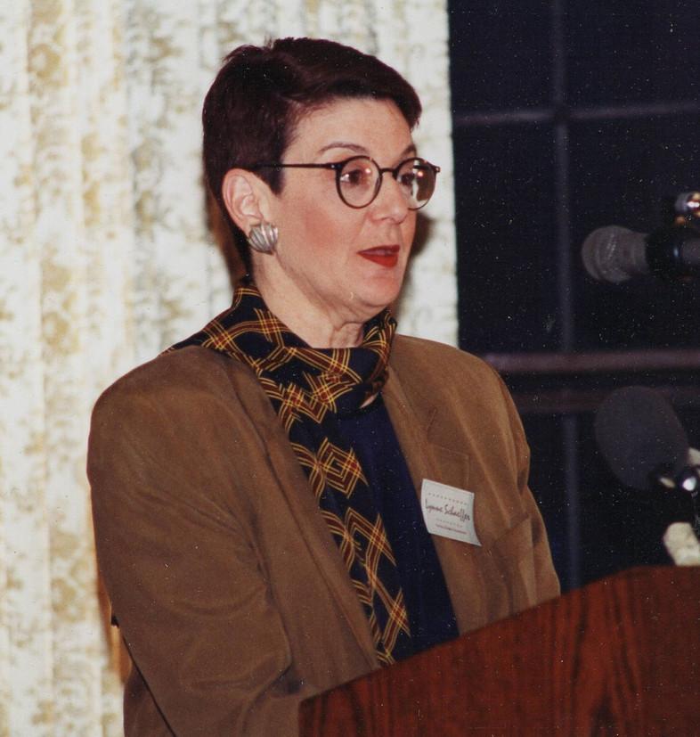 Dr. Lynne Schaeffer, English Dept. Chair