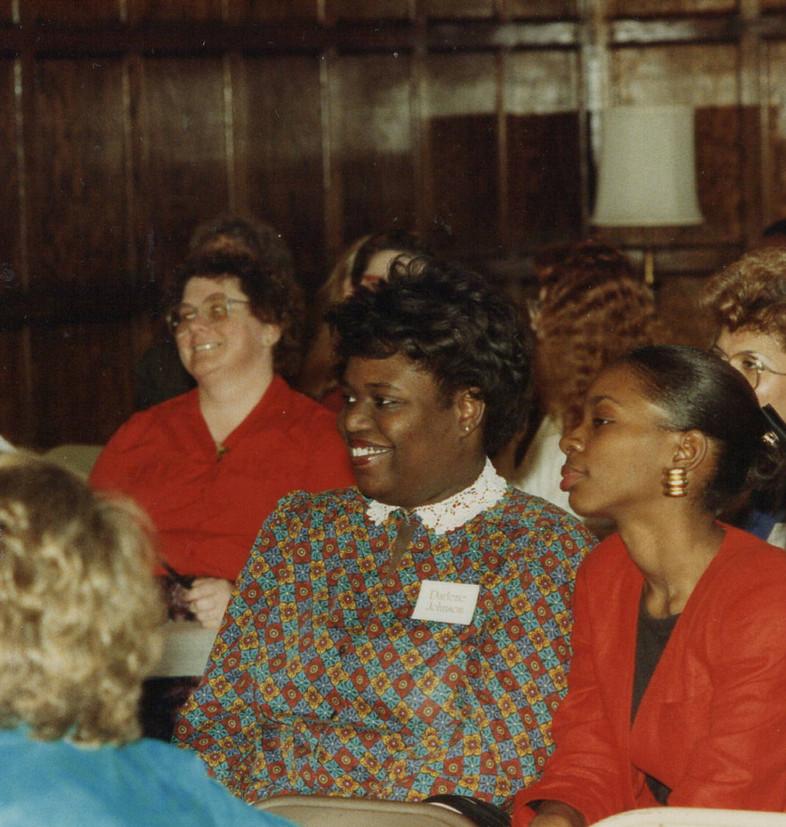 Students at Mary Helen Washington class