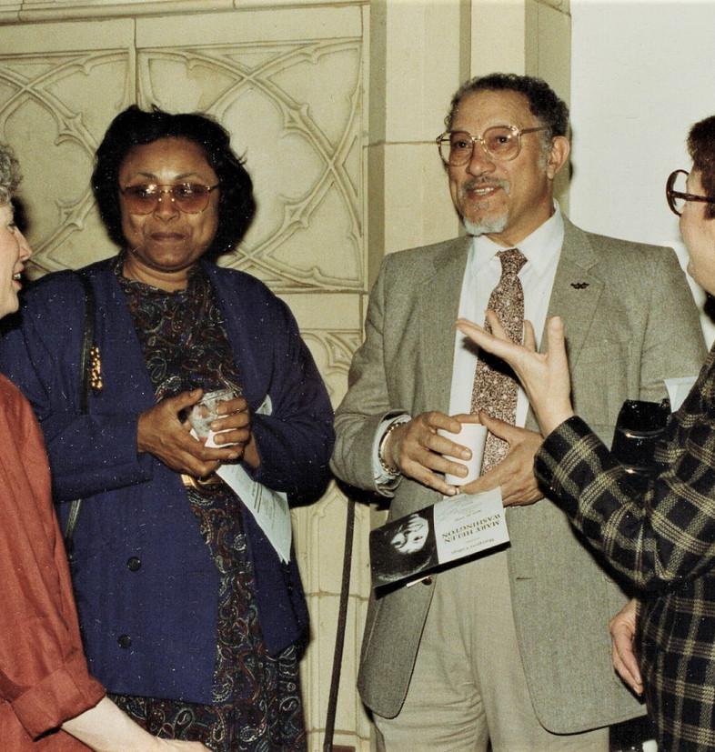 Barbara Johns, Bernadine and Alvin Auber