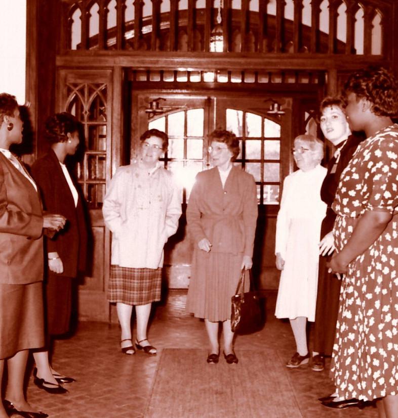 Winifred Dowd, Anna Mary Waickman, and E