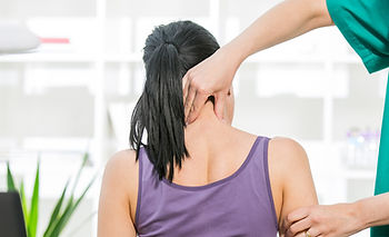 Chiropractic adjustments for neck pain