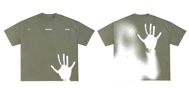 My brand, A Moment Away, T-shirt