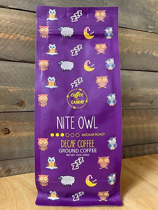 Night owl decaf ground coffee