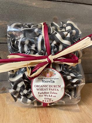Organic Durum wheat pasta Zebra Bowtie