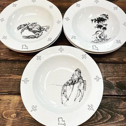 Local artist gumbo or pasta bowl