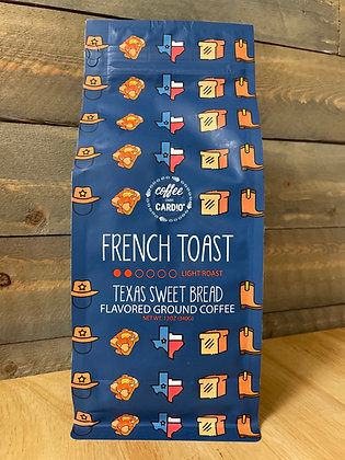 French toast Texas sweet bread ground coffee