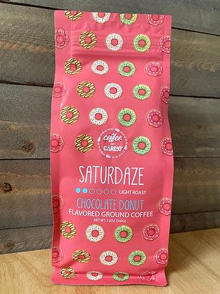 Saturdaze chocolate doughnut ground coffee