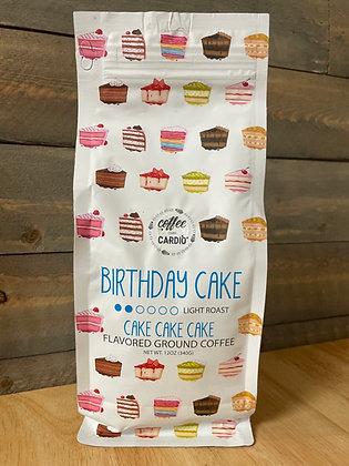 Birthday cake ground coffee
