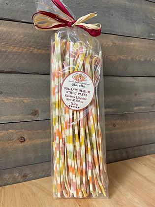 Organic Durum wheat pasta Rainbow Linguine