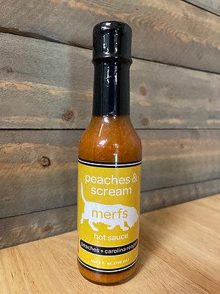 Peaches and scream hot sauce