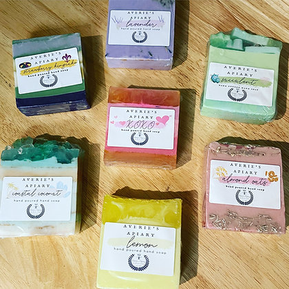 Handcrafted hand poured soaps