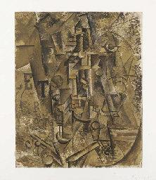 Pablo Picasso La Bouteille de Rhum
