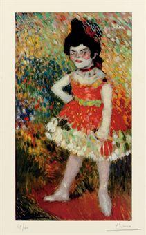 Pablo Picasso -  La Danseuse Naine