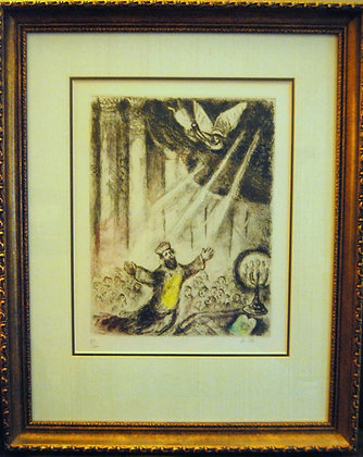 Marc Chagall  - bible ecthing