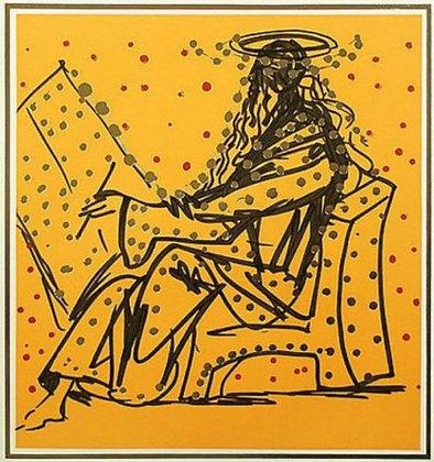 "Savador Dali ""Merlin the Magician"""