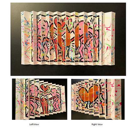 EM Zax Original hand painted Polymorph