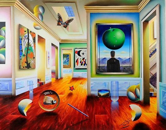 Ferjo original acrylic painting on canvas