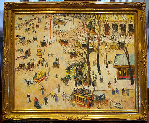 H. Claude Pissarro oil on canvas