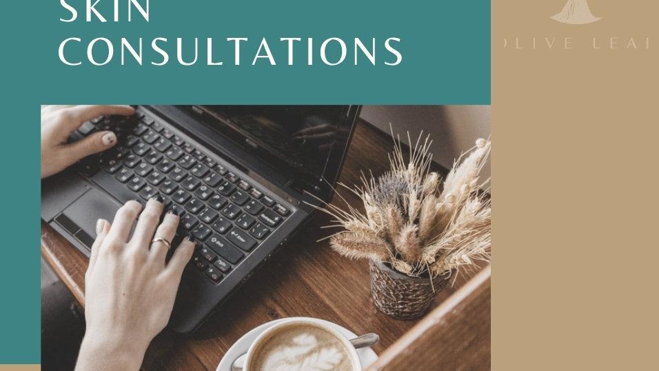 Online Holistic Skin Consultation