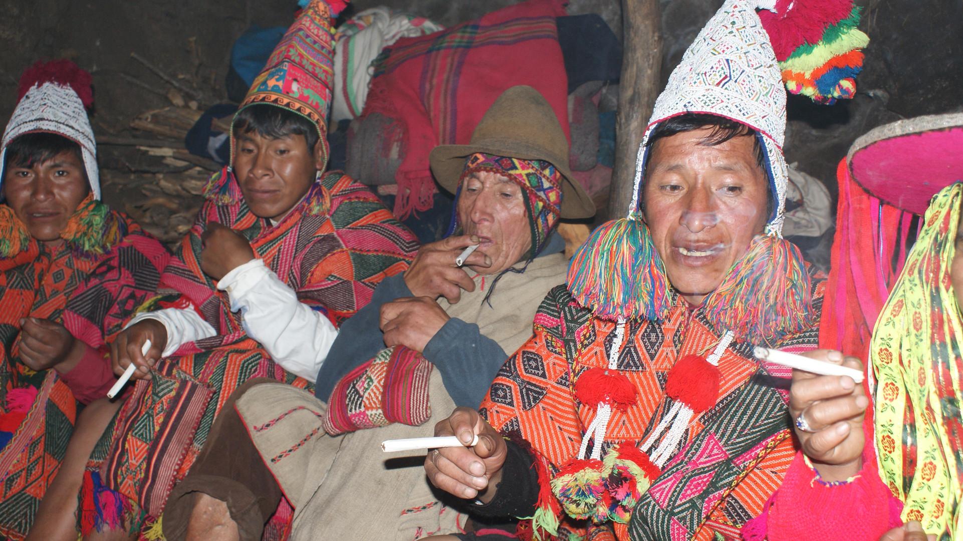 Indigene Schamanen der Q'eros