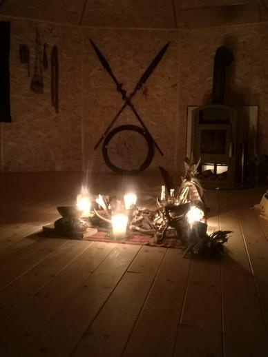 Altar Jurte Cheyenne Steiermark