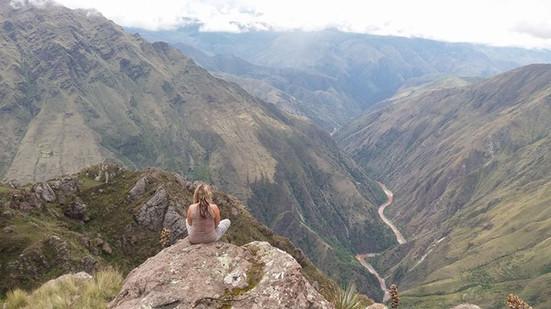 Peru Anden Chunkal Tempel