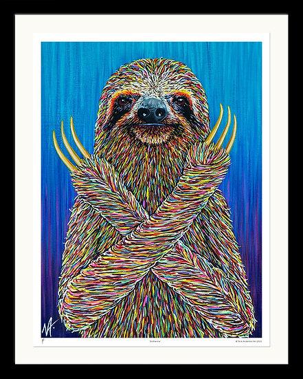 'Slotherine' Signed Print