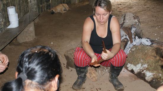 Vorbereitung für die Amazonasmedizin