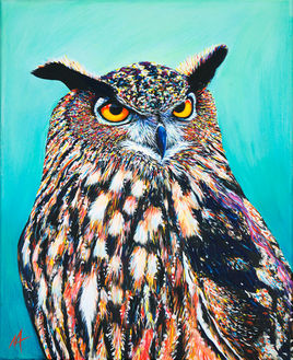 'Bubo' (2016) - SOLD