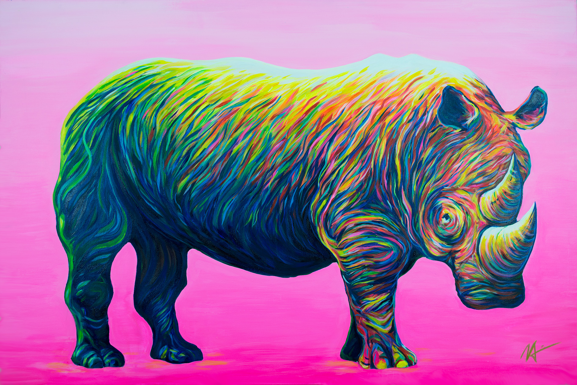 'Rhino' (2015) - Sold