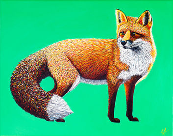 'Foxy' (2017) - SOLD