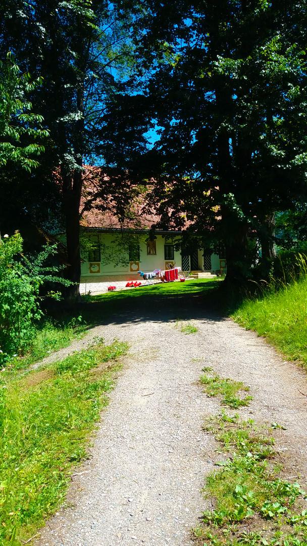 Haus Wundsam Zufahrt